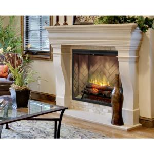 Revillusion 36 in. Portrait Built-In Electric Fireplace Insert