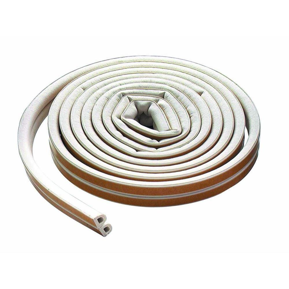 M-D Building Products 3/8 in. x 200 ft. All-Climate D-strip Weather Strip
