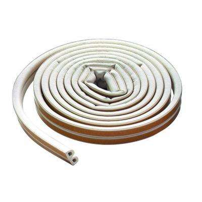 3/8 in. x 200 ft. All-Climate D-strip Weather Strip