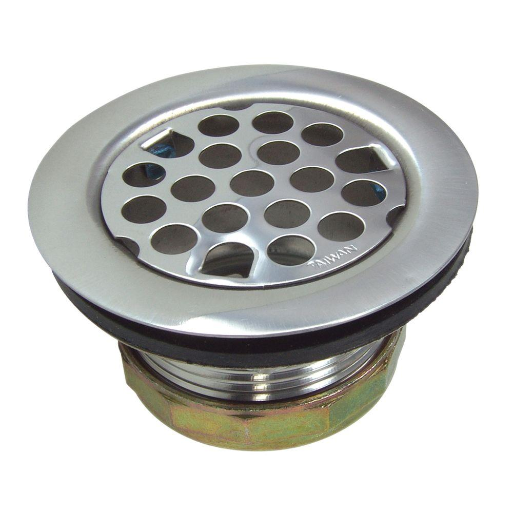 Flat Sink Strainer Assembly