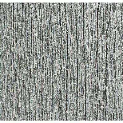 1 in. x 5.36 in. x 2 ft. Twin Finish Composite Decking Board Sample in Grey