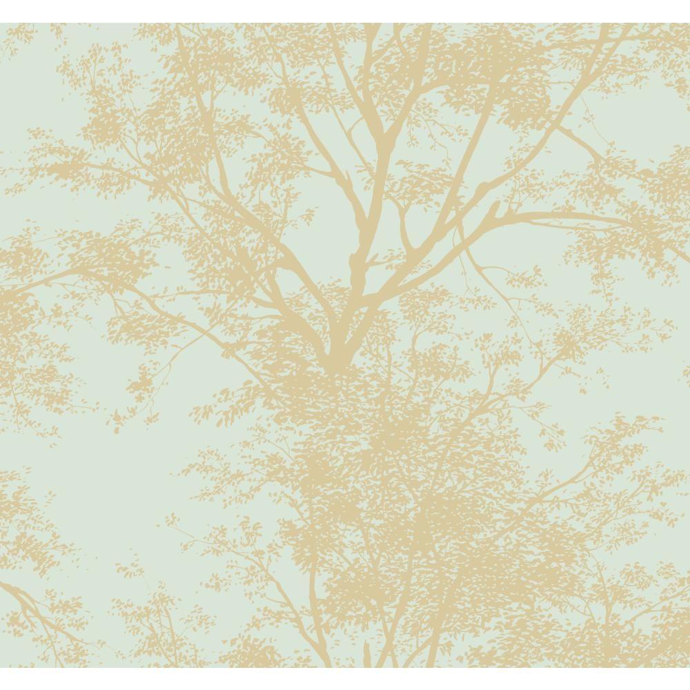 York Wallcoverings Tree Silhouette Wallpaper