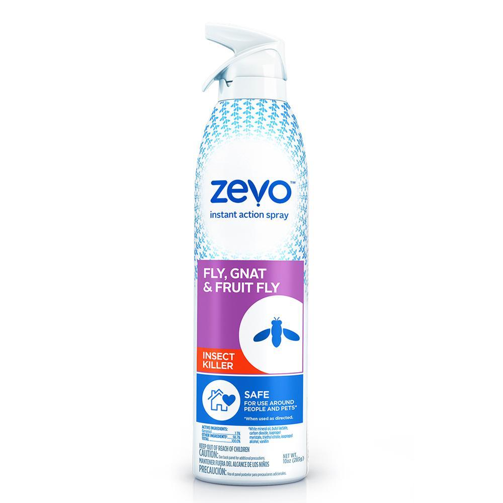 Zevo Instant Action 10 Oz Aerosol Fly Gnat And Fruit Fly