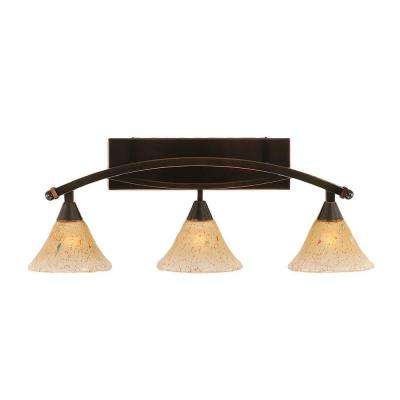 No bulbs included copper vanity lighting lighting the home depot concord 3 light black copper bath vanity light filament aloadofball Choice Image