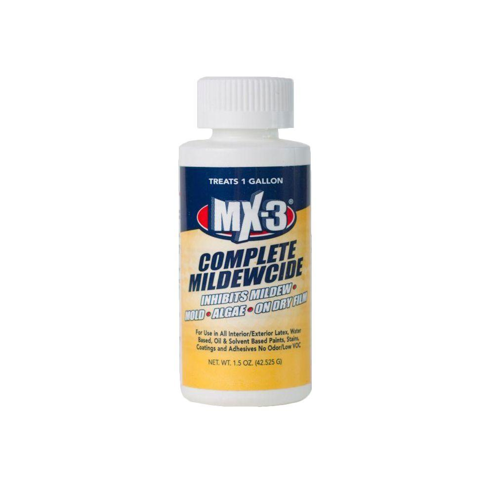 3009 MX-3 1.5 oz. Zero VOC Liquid Complete Mildewcide (treats 1-gal.)