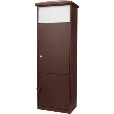 MPB-600 Brown Parcel Box with Package Compartment