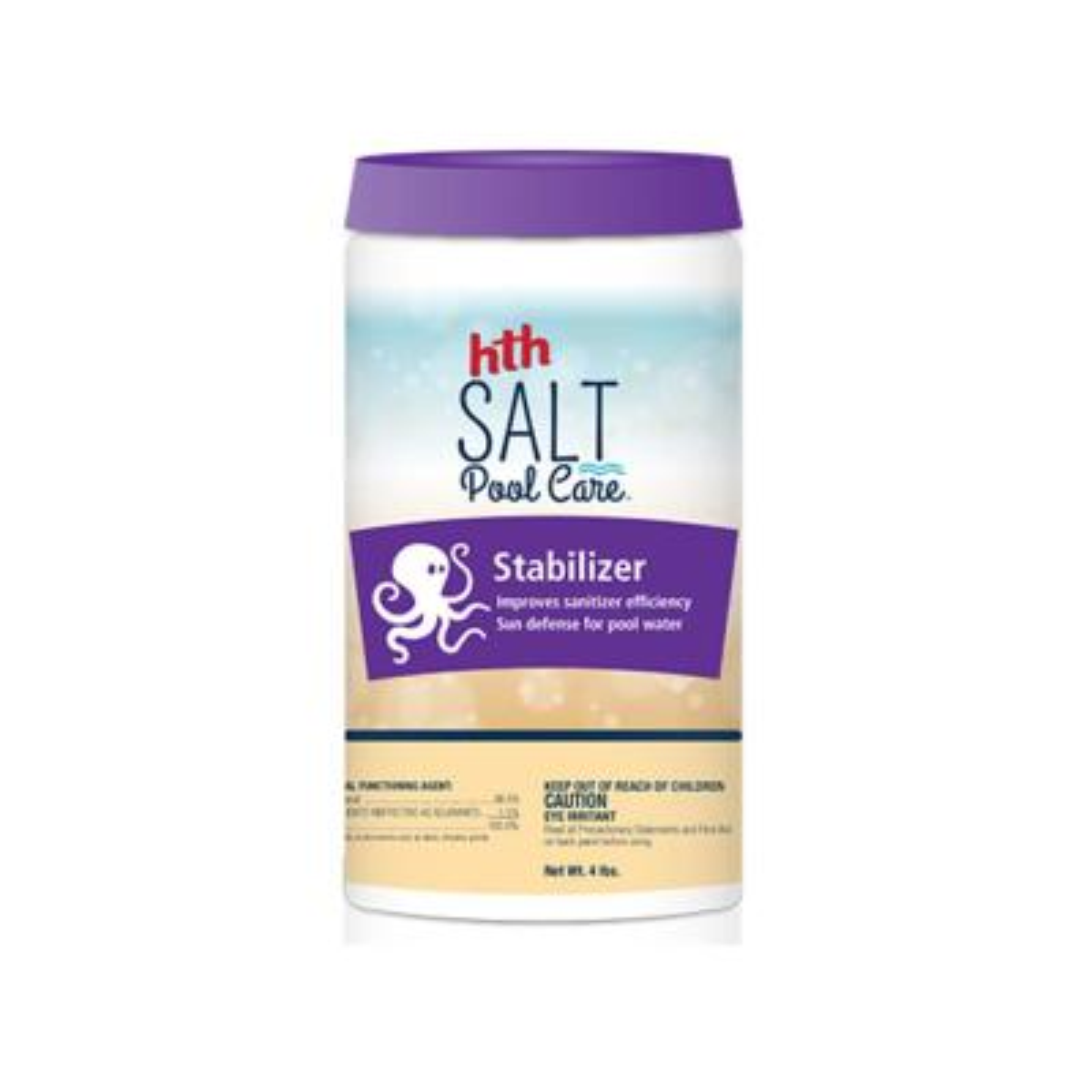 4 lbs. Pool Stabilizer Salt Pool Care Stabilizer
