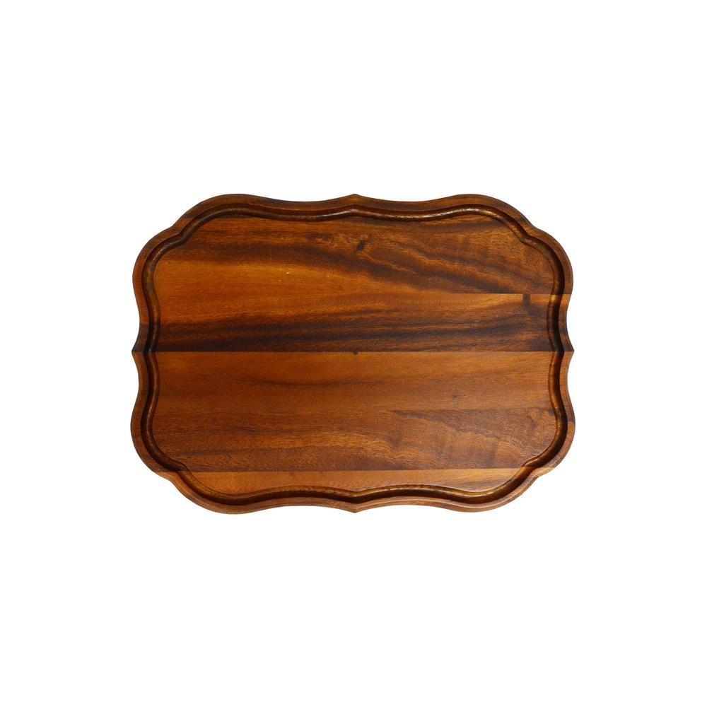 Scranton 15 in.x 11 in. Wood Cutting Board