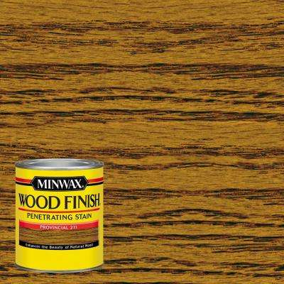1-qt. Wood Finish Provincial Oil Based Interior Stain (4-Pack)