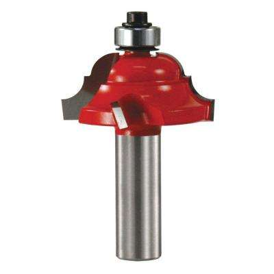 1/2 in. Carbide Cove and Bead Decorative Router Bit
