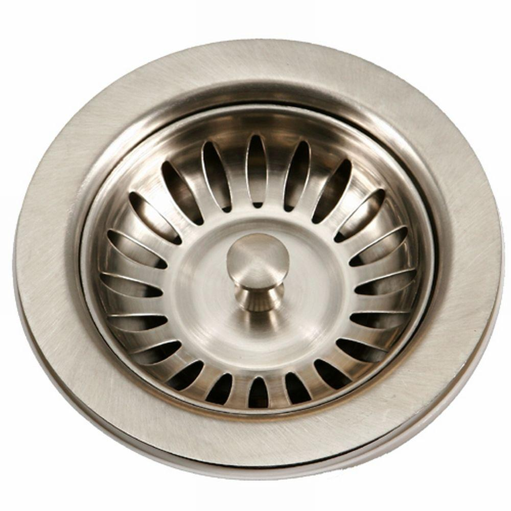 HOUZER 3.5 in. Basket Strainer
