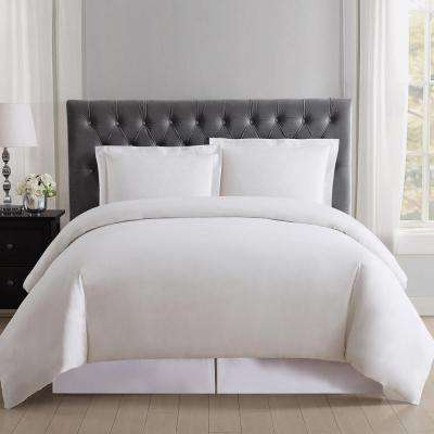 Everyday 3-Piece Ivory Full and Queen Duvet Set