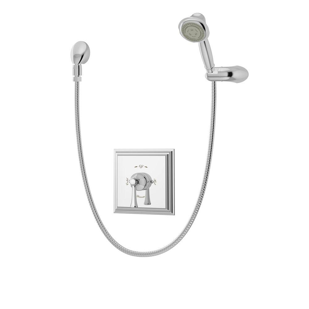 Canterbury 3-Spray Hand Shower in Chrome (Valve Included)