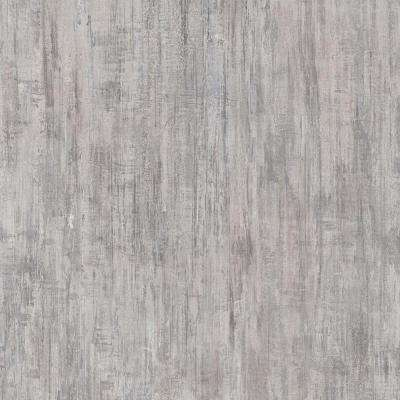 Take Home Sample - Brushed White Luxury Vinyl Flooring with 4 in. x 4 in.