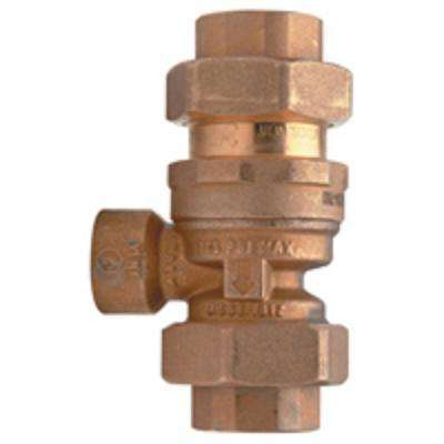 3/4 in. Brass Dual Check Valve Assembly with Intermediate Atmospheric Vent