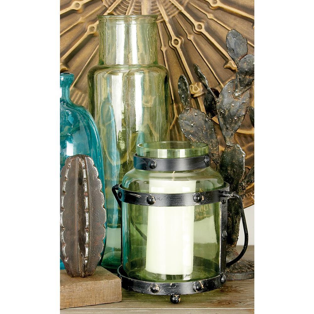 Multi Glass Jar-Style Candle Lantern
