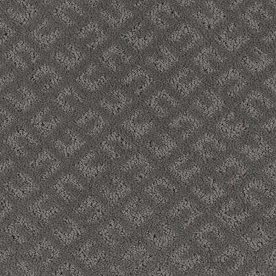 Carpet Sample - Exquisite - Color Greystone Pattern 8 in. x 8 in.