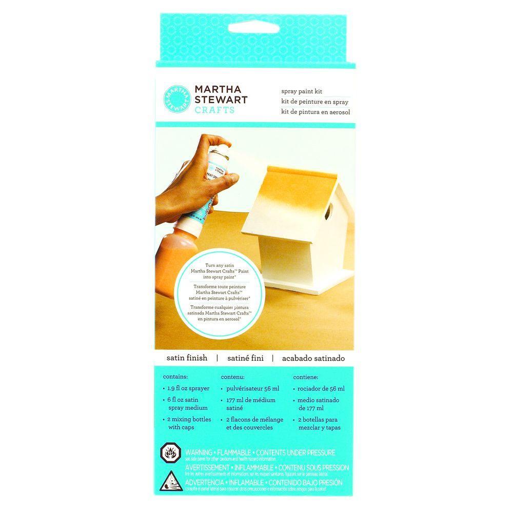 Martha Stewart Crafts Satin Spray Paint Kit