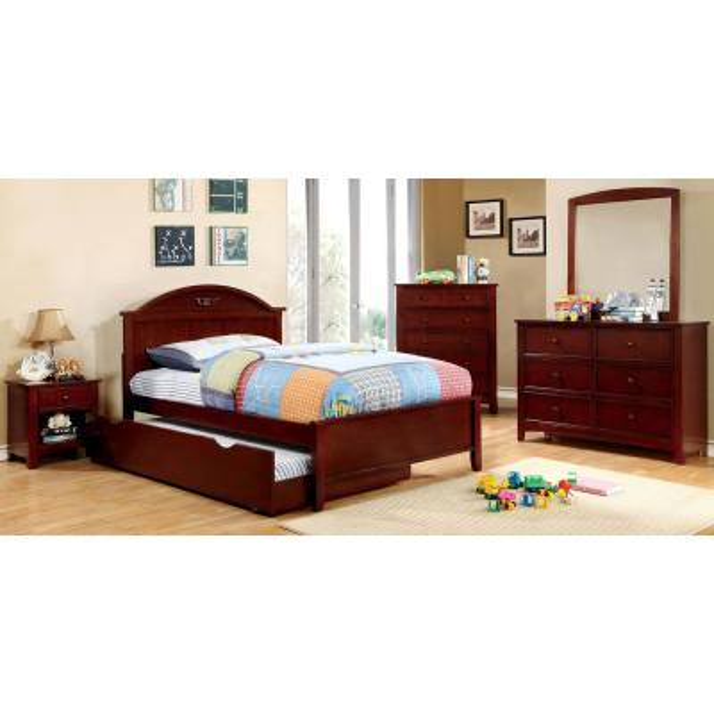 Medina Twin Bed in Cherry finish