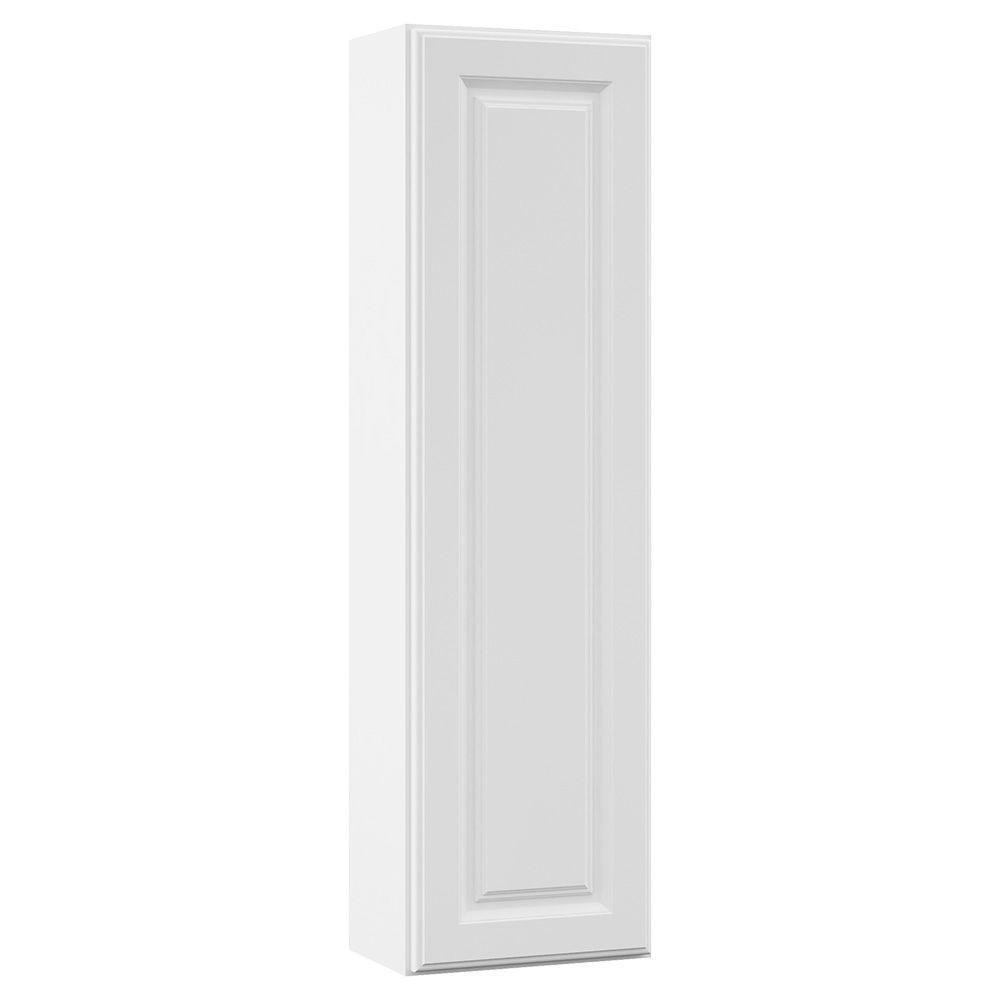 Masterbath Cambridge 12 In W X 42 In H X 7 1 4 In D Bathroom Storage Wall Cabinet Hutch Only