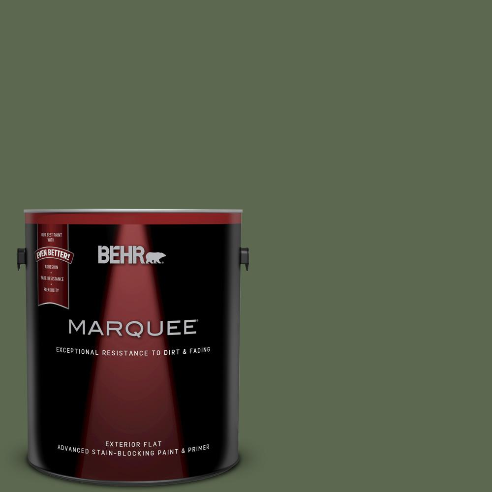 1-gal. #ICC-87 Rosemary Sprig Flat Exterior Paint