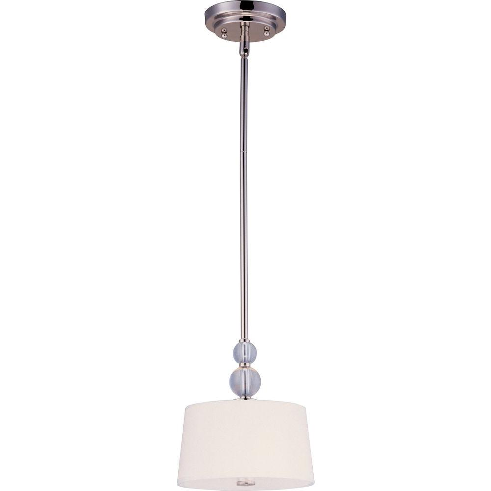 Rondo 1-Light Polished Nickel Mini Pendant
