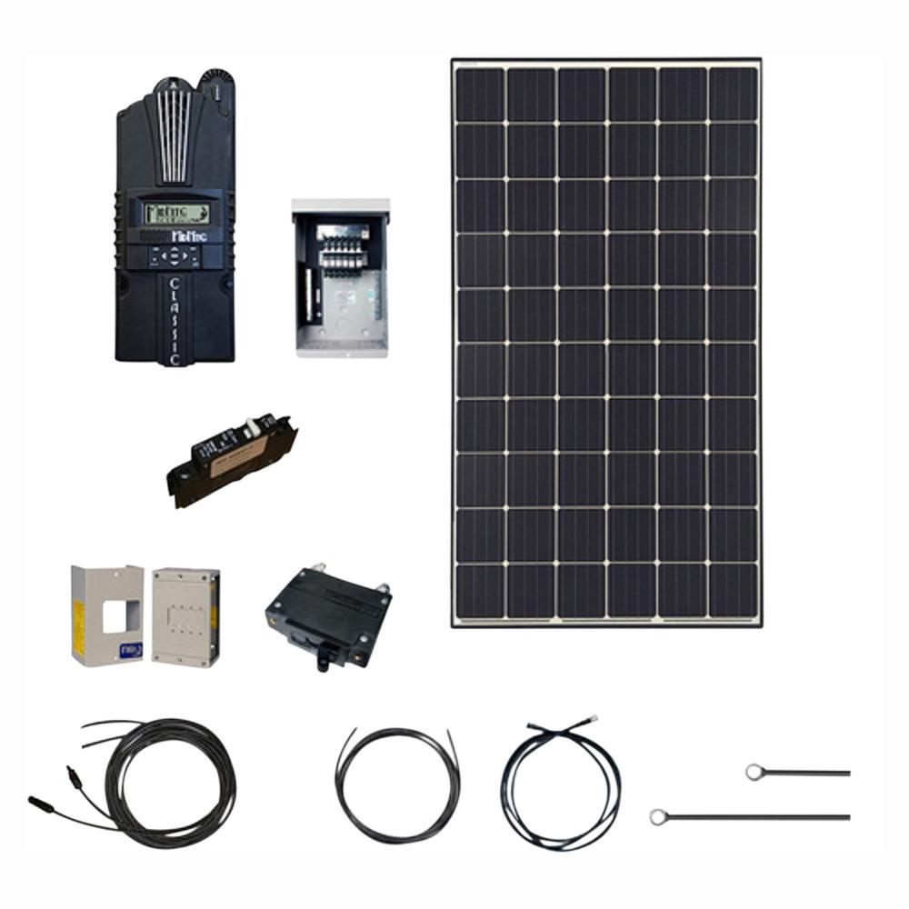 Renogy 4500-Watt 48-Volt Monocrystalline Solar Cabin Kit for off-grid solar  system