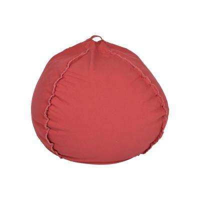 Marsala Canvas Bean Bag