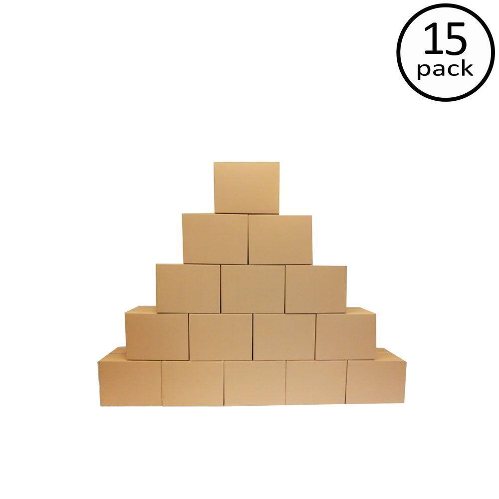 24 in. L x 18 in. W x 18 in. D Moving Box (15-Pack)