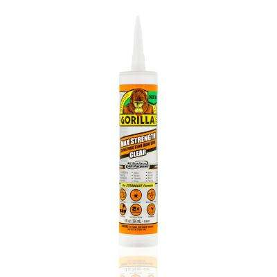 9 oz. Clear Construction Adhesive (12-Pack)
