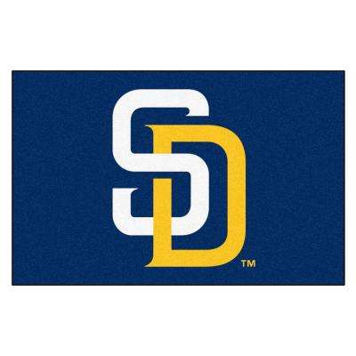 San Diego Padres 1 ft. 7 in. x 2 ft. 6 in. Accent Rug