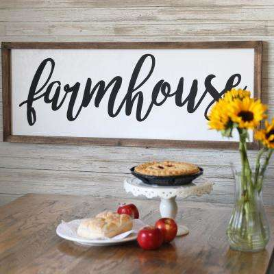 "15.00 in. x 40.00 in. ""Farm House"" Printed Wall Art"