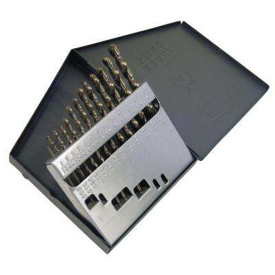 1802 Cobalt Heavy-Duty 135-degree Split Point 1/16 in. - 1/4 in. x 64 Bit Set (13-Piece)