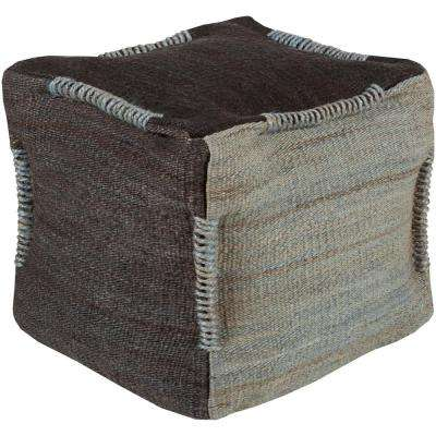 Henrietta Gray Decorative Pouf