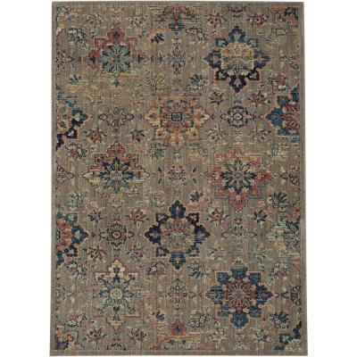 Isabella Grey 4 ft. x 6 ft. Area Rug