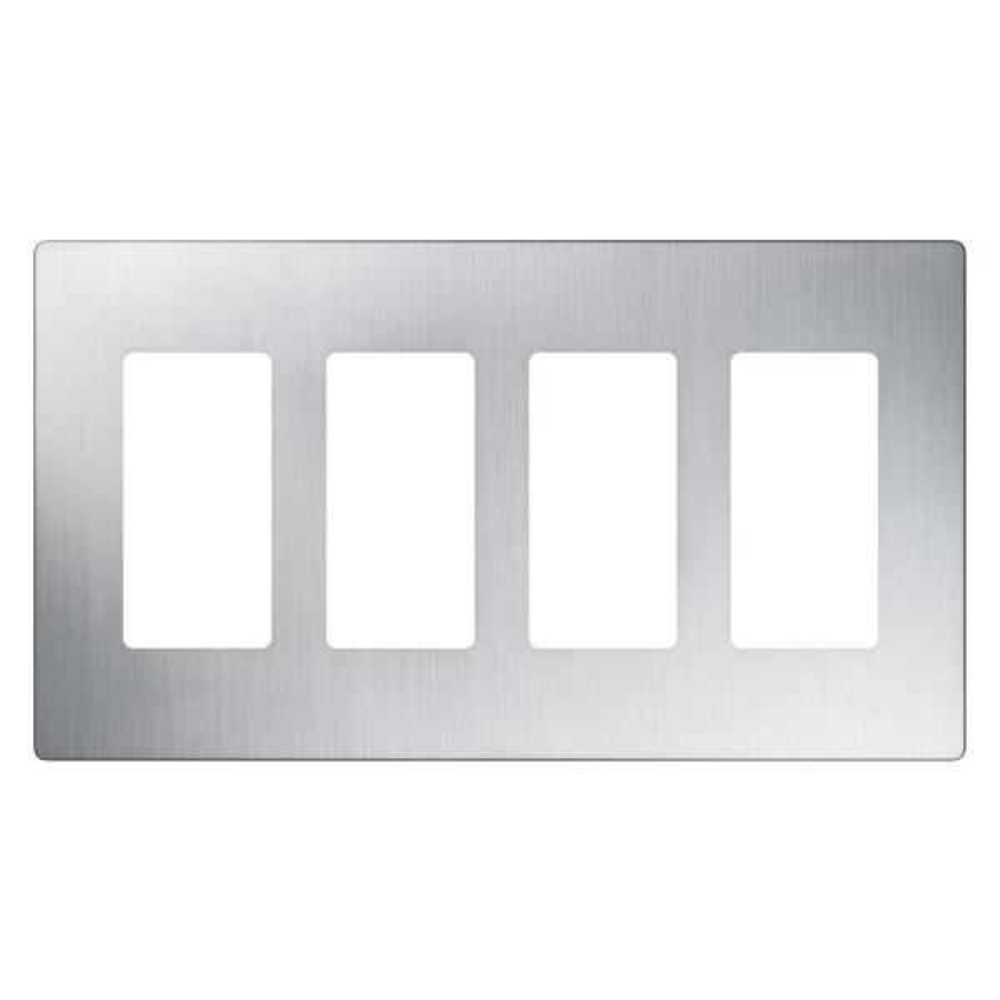 LUTRON CW-3-WH CLARO 3 GANG DECORATOR WALLPLATE WHITE
