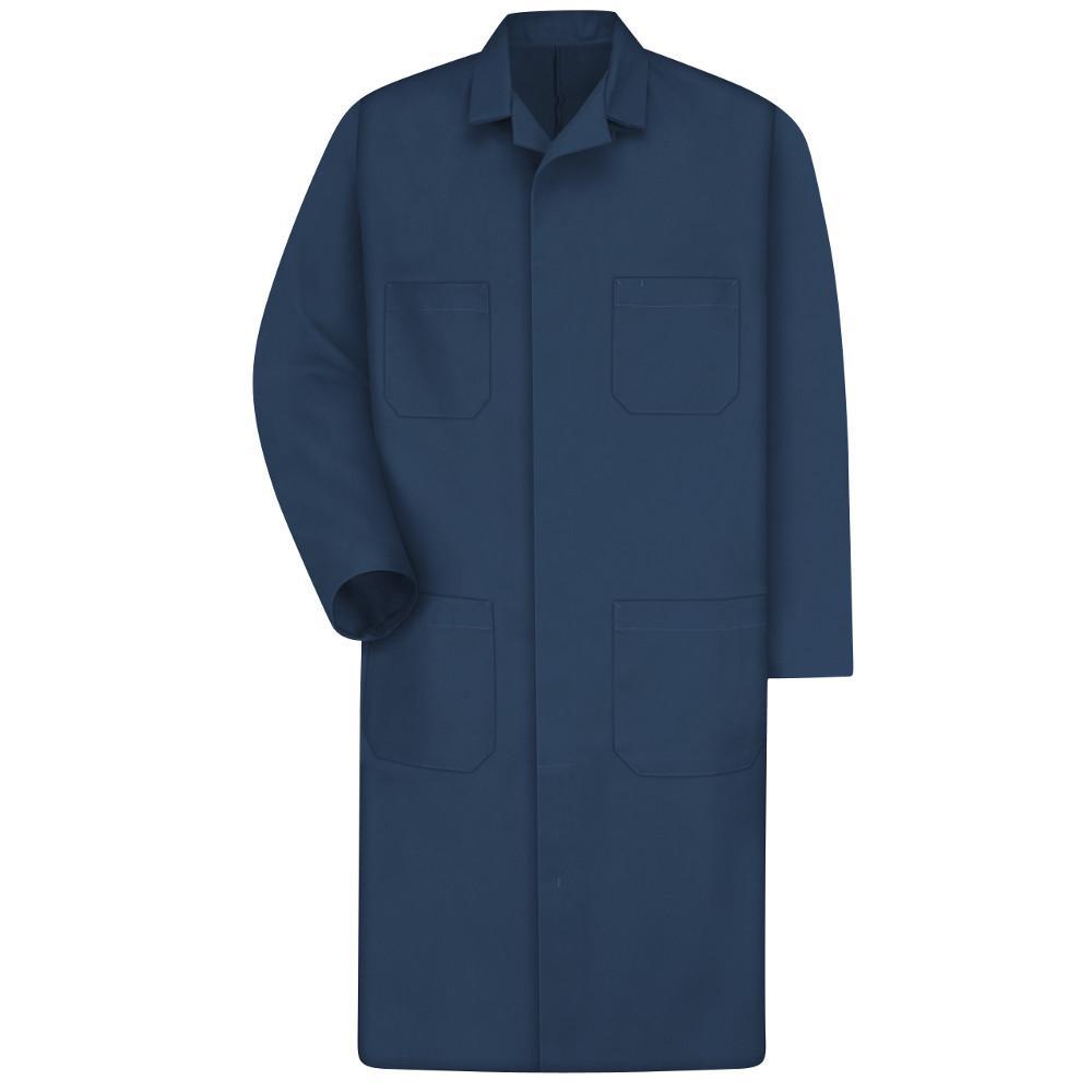 Men's Size 38 Navy Shop Coat