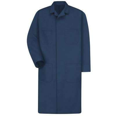 Men's Size 56 Navy Shop Coat