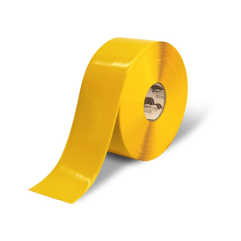 Safety Floor Tape In Solid Yellow