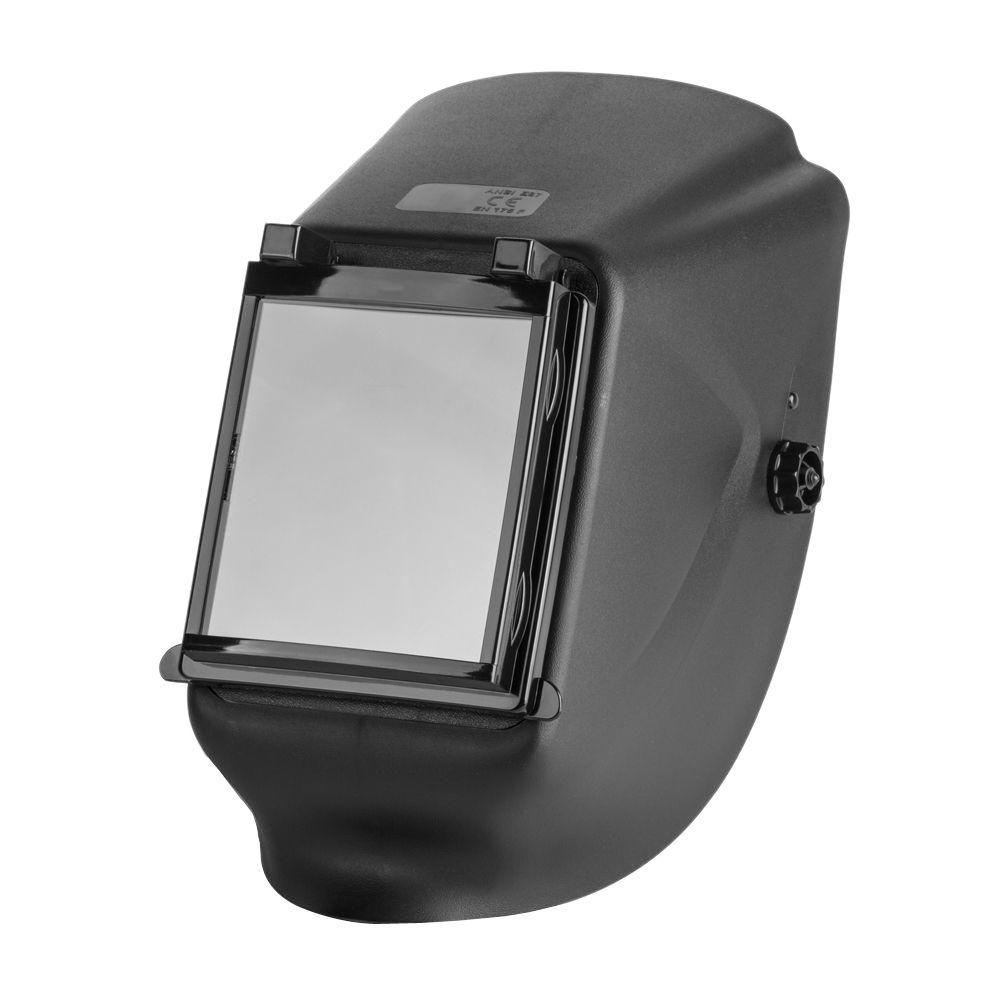 Flip-Up Welding Helmet with Large No. 11 Lens