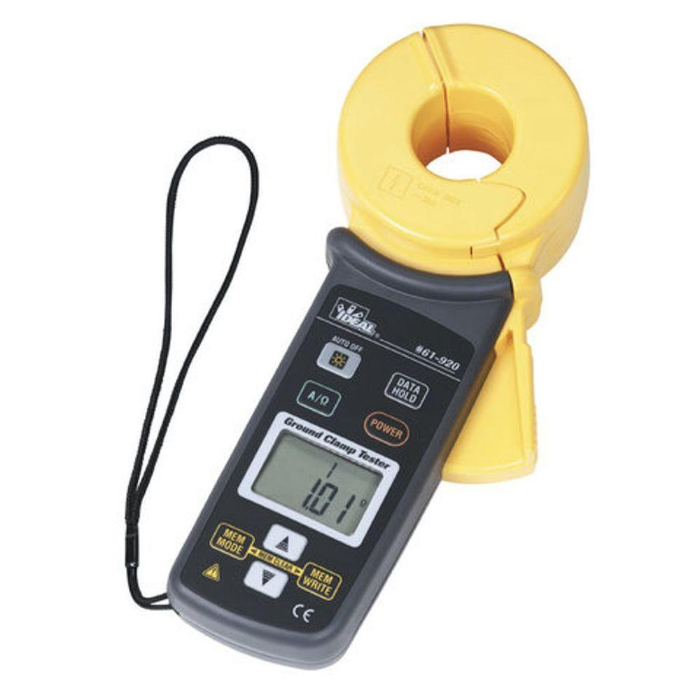 Clamp Meters Product : Ideal ground resistance clamp meter the home depot