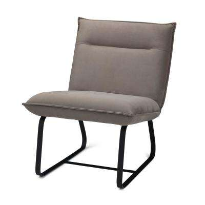 Eliza Camel Metal Frame Accent Chair