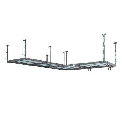 VersaRac Set with 2-Overhead Rack and 10-Piece Accessory Kit