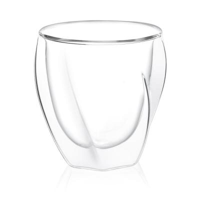 Lacey 8.5 oz. Double Wall Insulated Glasses (Set of 2)