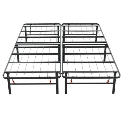 Queen-Size 14 in. H Heavy Duty Metal Platform Bed Frame