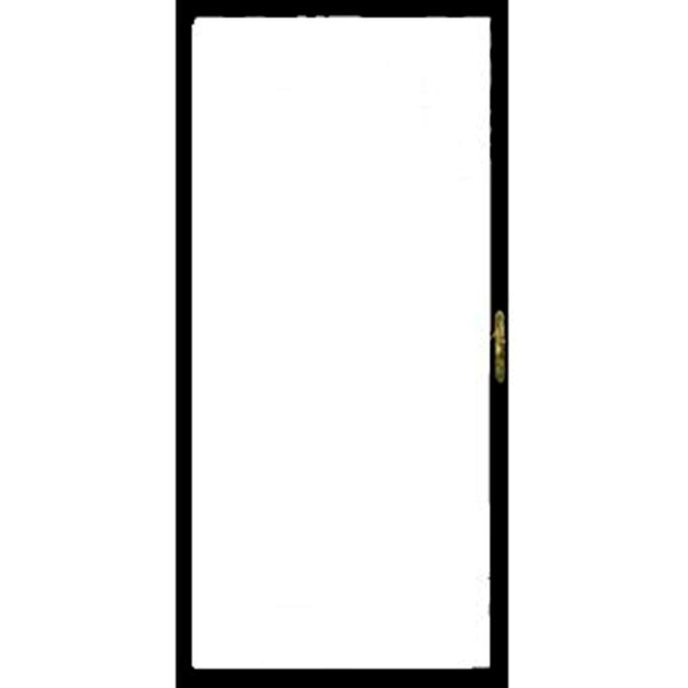 Grisham 36 in. x 80 in. 310 Series Black Full View Security Door