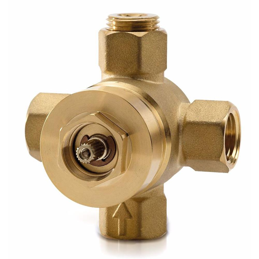 TOTO Dual-Control Pressure Balance Shower/Tub Valve with Diverter ...