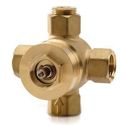 Dual-Control Pressure Balance Shower/Tub Valve with Diverter