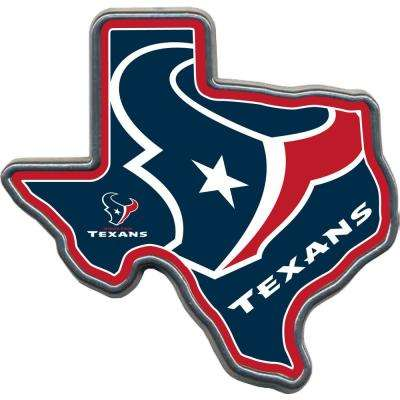 NFL Texans TX Shaped Hitch Cover