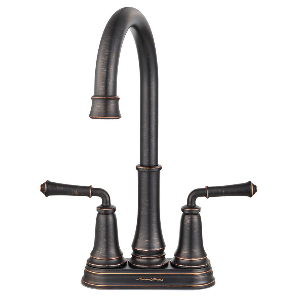 American Standard Delancey 2 Handle Bar Faucet In Legacy